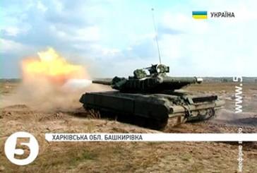 Нацгвардійці опановують модернізовані танки, які мали йти на ескпорт