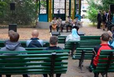 Курсанти Національної академії СБУ заспівали для поранених воїнів