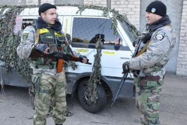 П'ятдесят бійців спецбатальйону міліції «Тернопіль» несуть службу у Лисичанську, Луганської області