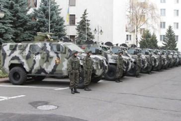 Національна гвардія України отримала партію броньованих автомобілів «Spartan-aps»