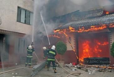 Тернопіль: ліквідовано пожежу в житловому будинку у мікрорайоні Кутківці