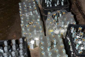 Підпільний цех з виготовлення алкоголю в антисанітарії виявили на Теребовлянщині