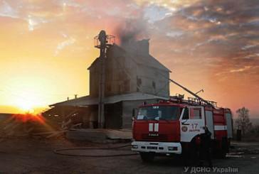 Зборівський район: вогнеборці ліквідували пожежу зерносушки