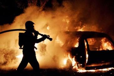 Бережанські міліціонери встановлюють причини загорання автомобіля та розшукують осіб, причетних до події