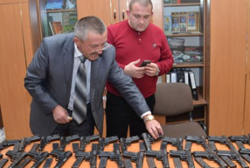 На Тернопільщині завершився місячник добровільної здачі зброї