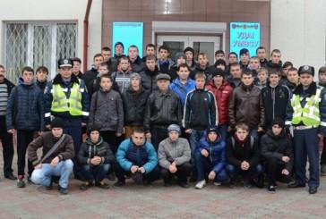 Державтоінспектори Тернопільщини зустрілися з майбутніми водіями