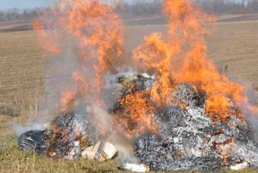 500 кілограм наркосировини спалилиміліціонери Тернопільщини