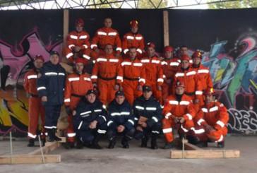 Тернопільські рятувальники взяли участь у практичних навчаннях з питань стабілізації пошкоджених будівельних конструкцій