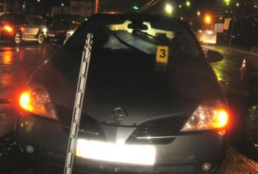 Одразу три автомобілі збили одного й того ж пішохода в Тернополі