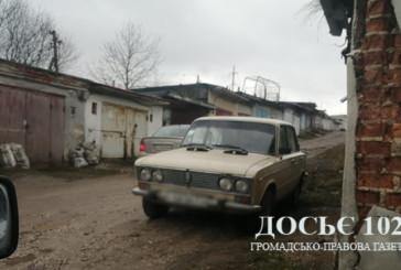Оперативники Тернополя розшукали викрадене авто і встановили особу підозрюваного