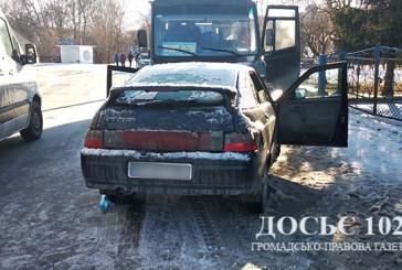 На Теребовлянщині не розминулися пасажирський бус та легковий автомобіль