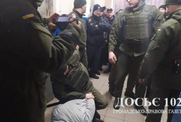 Поліцейські, нацгвардійці та судові охоронці навчалися діяти злагоджено під час конвоювання затриманих