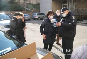 Засоби захисту та тест-системи для виявлення коронавірусної інфекції, які надійшли з Китаю, правоохоронці доправили на Тернопільщину