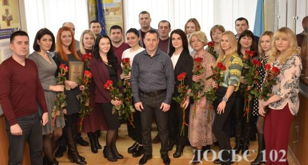 З прийдешнім святом привітав жінок керівник управління стратегічних розслідувань Тернопільщини