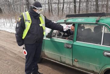 На в'їздах і виїздах населених пунктів Тернопільщини, де зафіксовані спалахи коронавірусної інфекції, працюють контрольно-пропускні пункти