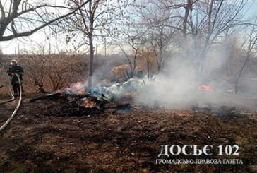 На Теребовлянщині жінка згоріла разом із сухим листям