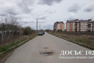 На Кременеччині травмувалася пасажирка скутериста