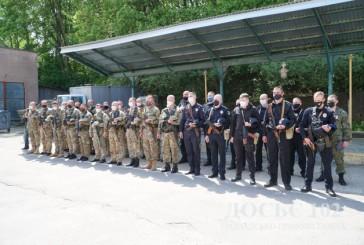 Зведений загін тернопільських поліцейських нестиме службу в зоні Операції Об'єднаних сил