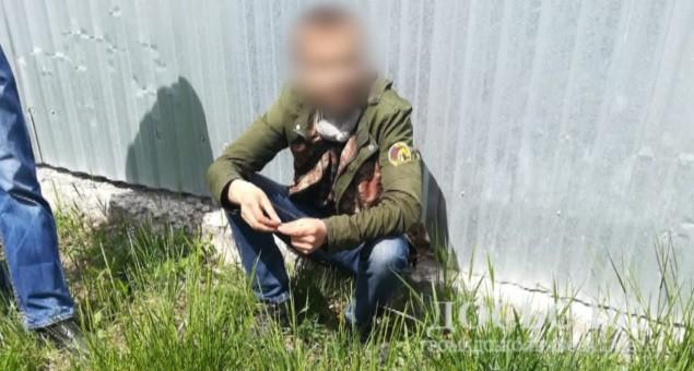Підозрюваного у крадіжці оперативно затримали працівники Тернопільського відділення поліції