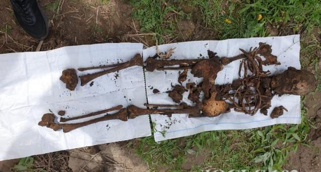 Людські рештки розкопали на Теребовлянщині