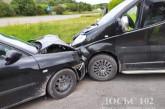 У автопригодах на Тернопільщині травмувалися пасажир та водій
