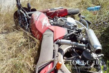 На Борщівщині зіткнулися мотоцикл та іномарка