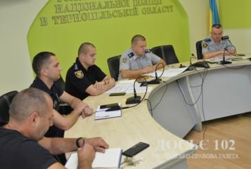 Поліція Тернопільщини підсумувала результати оперативно-службової діяльності за перше півріччя