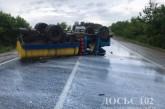 На Кременеччині не розминулися вантажівка та іномарка