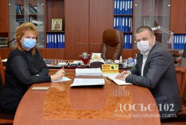 Очільник Нацполіції краю зустрівся з керівником Регіонального центру з надання безоплатної правової допомоги