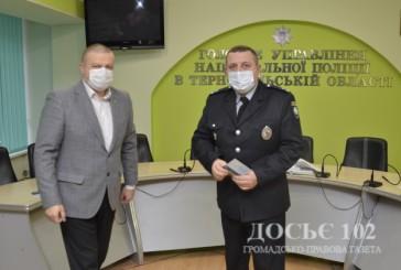 Заступник начальника обласної поліції  та двоє керівників територіальних підрозділів отримали відомчі нагороди