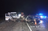 В купу металобрухту перетворилися автомобілі в результаті автопригоди на Кременеччині