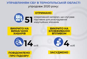 На Тернопільщині СБУ системно протидіє внутрішнім загрозам національній безпеці