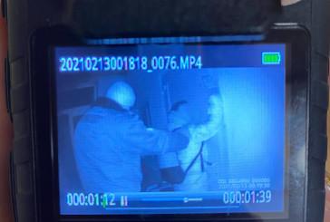Поліцейські охорони піймали зловмисника