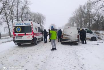 На Тернопільщині у ДТП травмувалося семеро людей