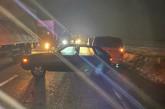 Одразу під колесами трьох авто опинився житель Кременеччини