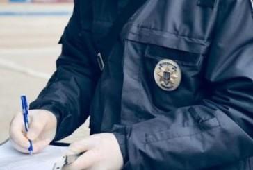 За минулий тиждень поліцейські зафіксували 442 порушення карантинних обмежень в області