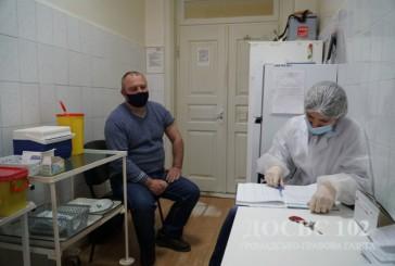 На Тернопільщині триває вакцинація працівників правоохоронних органів