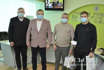 Начальник Нацполіції області привітав членів ФСТ «Динамо» з високими досягненнями у кікбоксингу