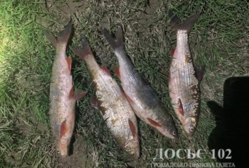 Дільничні Бучацького відділення поліції припинили незаконний вилов риби