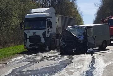 На Тернопільщині троє людей отримали травми в результаті ДТП