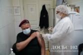 На Тернопільщині продовжується вакцинація працівників органів внутрішніх справ, пенсіонерів та членів їх сімей