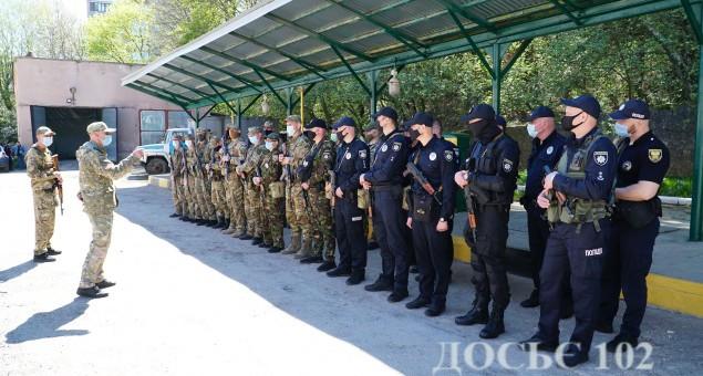 Зведений загін  поліцейських Тернопільщини вирушив на схід країни