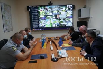 Сучасне обладнання передали представники Консультативної місії Європейського Союзу правоохоронцям Тернопільщини