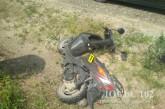 У аварію на Тернопільщині потрапив неповнолітній скутерист