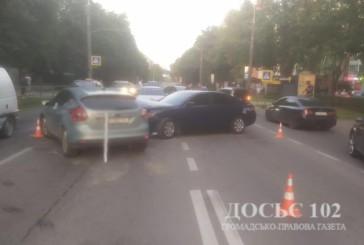 У Тернополі поліція встановлює обставини ДТП за участю двох іномарок