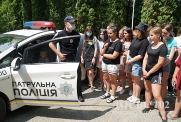 Тернопільські поліцейські відвідують дитячі табори та нагадують про правила безпечного відпочинку