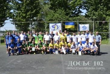 Збірна команда поліції Тернопільщини увійшла до трійки переможців на обласному чемпіонаті з міні-футболу