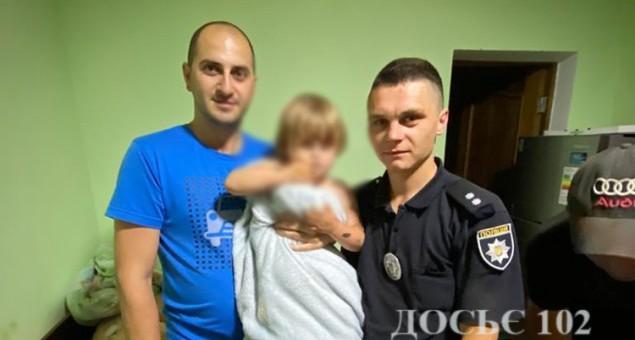 Поліцейські Тернопільщини за дві години розшукали зниклу дворічну дівчинку