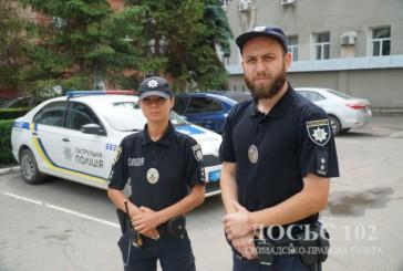 Патрульні поліцейські Тернополя оперативно затримали зловмисника