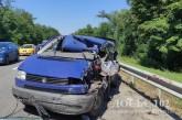 На Тернопільщині водій іномарки заснув за кермом і врізався в вантажівку